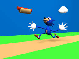 Sonic Gotta Go Fast Meme - hot dog gif find share on giphy