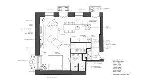 studio apartment plan home design interior