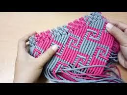 Youtube Cara Membuat Tas Rajut Dari Tali Kur   skill pembuatan tas rajut dari tali kur motif kotak kotak from