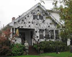 House Decorations Outside Decorations Spiders Web To Spook Up Everyone