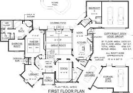 home design blueprints images about house plans on floor mediterranean and idolza