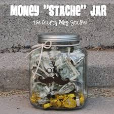 wedding gift money money stache jar wedding gift the crafty stalker