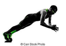 Bench Press Ups Stock Photo Of Man Exercising Fitness Weights Bench Press