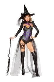 witch costume black purple 2pc witch costume