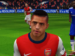 fifa 14 all hairstyles alexis sanchez new hairstyle fifa 14 at moddingway