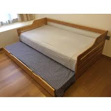 Trundle Bed Single Bed Pull Out Trundle Bed 2 In 1 Bed Frame Plus
