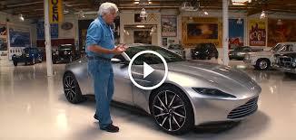 Aston Martin Db10 James Bond S Car From Spectre Jay Leno Drives Bond U0027s Aston Martin Db10 From Spectre Hsvsingles Info