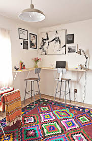 Wall To Wall Desk Diy by These 18 Diy Wall Mounted Desks Are The Perfect Space Saving Solution