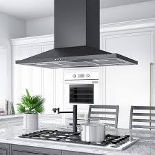 kitchen island range 36 artisan series stainless steel black island range 600 cfm