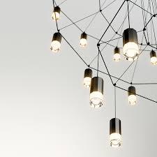 wireflow chandelier vibia