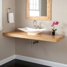 bathroom sink ideas wall mounted sink cabinet awesome best wall mounted bathroom sinks