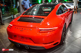 porsche red 2017 all new porsche 911 carrera s ttautoguide com