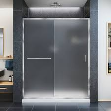 34 Shower Door Dreamline Infinity Z Frameless Sliding Shower Door And Slimline 34