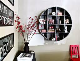 decorations elegant living room bookshelf with white wooden cool