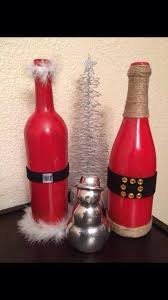 wine bottle christmas ideas the 25 best wine bottle christmas centerpiece ideas on