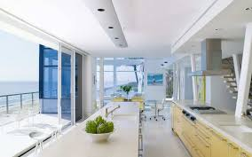 Beach House Decorating Ideas Photos by Luxury Modern Beach House Decorating With High End Kitchen Also