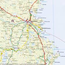 Map Sweden Map Of Northern Sweden Freytag U0026 Berndt U2013 Mapscompany