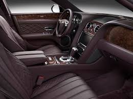old bentley interior bentley u0027s mulliner bespoke division features make debut on flying spur
