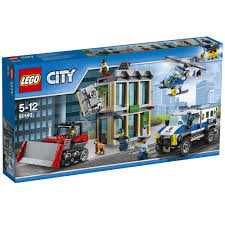 police jeep toy lego city police bulldozer break in 60140 65 00 hamleys for