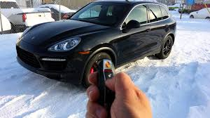 2011 porsche cayenne remote starter youtube