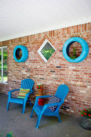 planters that hang on the wall upcycled tire wall planters wholefully