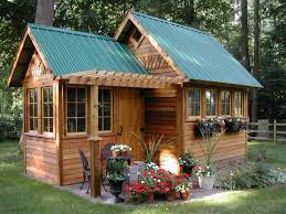 green garden shed for awesome backyard decor idea get inspiring