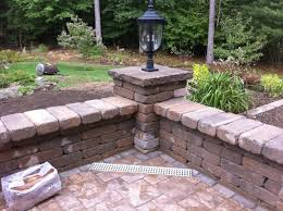 Patio Retaining Wall Ideas Brick Patio Wall Designs Best Patio Wall Design Home Design Ideas