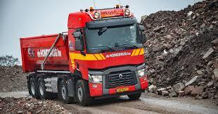 renault bus renault trucks c 430 8x4 voor de hondsrug trucks renault