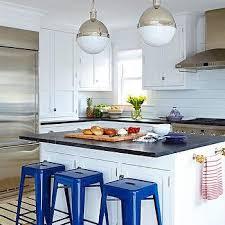 blue and white beach bungalow kitchens design ideas