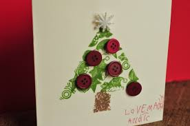 make a christmas card make it pretty wednesdays christmas cards that kids can make