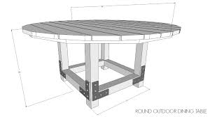 Make Outdoor End Table by Outdoor Dining Table Diy Done Right