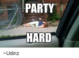 Party Hard Meme - party hard udinz meme on me me