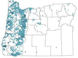 Map Of Ashland Oregon by New Map Examines Oregon U0027s Landslide Areas Klcc