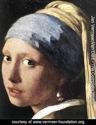 vermeer pearl earrings jan vermeer delft the complete works girl with a pearl