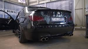 bmw m5 modified bmw m5 v10 w straight pipes very loud revs youtube