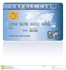 credit or debit card design stock vector image 31207221