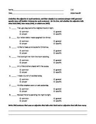 adjectives crossword crossword worksheets and 2nd grade worksheets