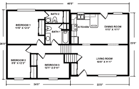 tri level floor plans mountain modular split level floor plans