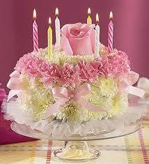 flowers birthday floral birthday cake kremp