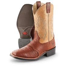 men u0027s double h roper western boots brown 590605 cowboy