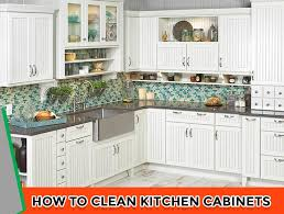 how to clean the kitchen cabinets how to clean kitchen cabinets 6 excellent tips my kitchen