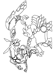 rayquaza coloring pages pokemon coloring pages for kids pokemon