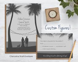 wedding invitation sets custom drawing wedding invitations blue weddings