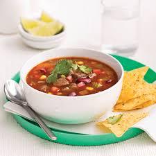recette cuisine mexicaine soupe mexicaine au boeuf pour sacs à congeler recettes cuisine