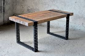 Coffee Table Uses by We Turned Old Wood And Rusty Chain Into A Coffee Table Bored Panda