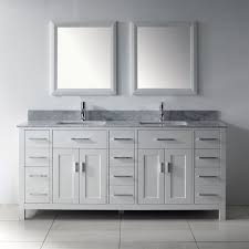 White Double Vanity 60 Bathrooms Design Virtu Usa Md Es Gloria Inch Double Sink