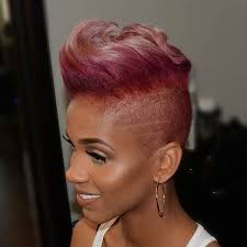 short black hair styles that have been shaved 23 most badass shaved hairstyles for women badass woman and mohawks