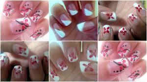nail designs home entrancing cool nail art designs to do at home