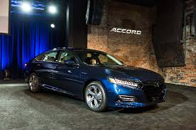 2018 honda accord first look lower wider shorter motor trend