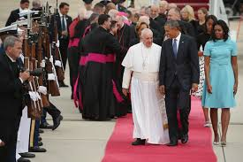 Obama First Family by President Obama U0026 The First Family Welcome Pope Francis And His